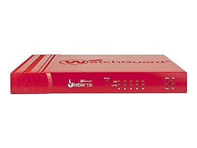 WatchGuard® Firebox® T30 5-Port Security Appliance with 1 Year Standard Support