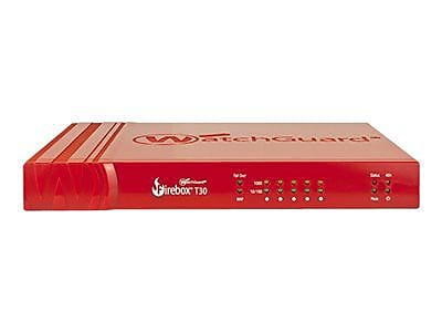WatchGuard® Firebox® T30 Trade Up Program 5-Port Security Appliance with 1 Year Security Suite