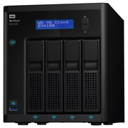 WD My Cloud Business Series EX4100, 0TB, 4-Bay Diskless NAS with Intel & processor