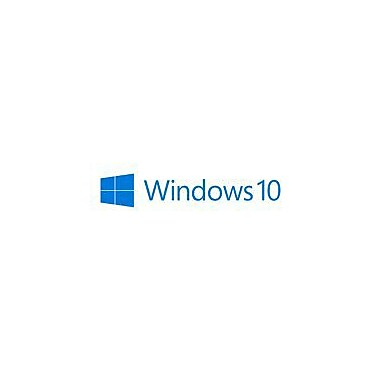 Microsoft® Software License, 1 User, Windows 10 Professional 64-bit, DVD-ROM (FQC-08930)