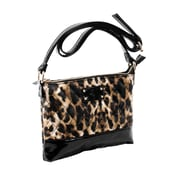Parinda Cara Leopard Quilted Faux Leather Crossbody (11207)