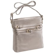 Parinda Clarice Ii Bronze Faux Leather Crossbody (11272)