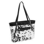 Parinda Fiona Black & White Quilted Fabric Tote (11280)