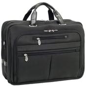 McKlein USA Rockford R Series Black Tech-Lite Ballistic Nylon Laptop Case (76515)