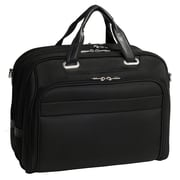 McKlein R Series, SPRINGFIELD, Nylon, Checkpoint-Friendly Laptop Briefcase, Black (76595)