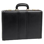 McKlein V Series, DALEY, Top Grain Cowhide Leather,Attaché Briefcase, Black (80435)