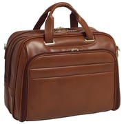 McKlein USA Springfield R Series Brown Full Grain Cowhide Leather Laptop Case (86594)