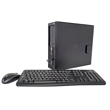 HP Z220 SFF Workstation Refurbished Desktop, 3.4GHz Intel Xeon E3-1240V2, 8GB RAM, 1TB HDD with Keyboard & Mice, English