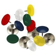 Staples® Thumbtacks, Coloured, 50/Pack