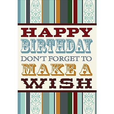 Cartes de voeux, souhaits d'anniversaire, paq./18