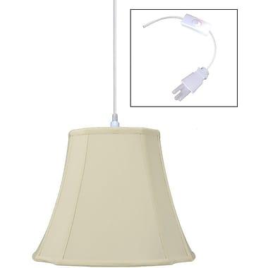 Home Concept 1-Light Pendant; 12'' H x 16'' W x 16'' D