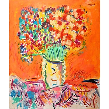 Marmont Hill 'Autumn Bouquet' by Wayne Ensrud Painting Print on Wrapped Canvas; 36'' H x 30'' W