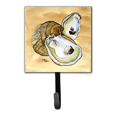 Caroline's Treasures Oyster Leash Holder and Wall Hook