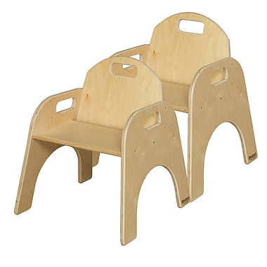 Wood Designs Wood Classroom Chair (Set of 2); 7''