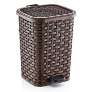 Superior Performance Plastic 3.1 Gallon Step On Trash Can