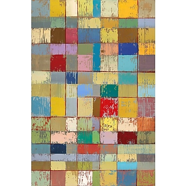 Marmont Hill 'Color Pattern Ii' by Julie Joy Painting Print on Wrapped Canvas; 30'' H x 20'' W