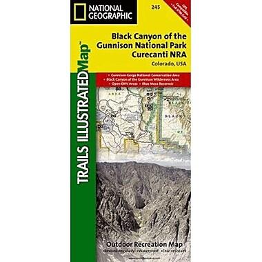 Universal Map Black Canyon New Mexico/Unison Gorge Map