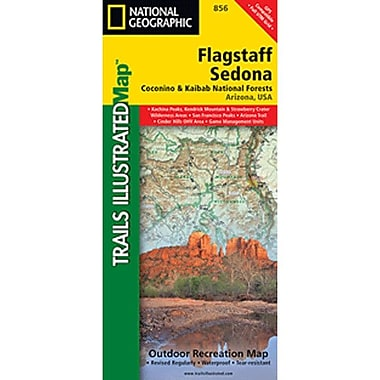 Universal Map Flagstaff/Sedona, Coconino and Kaibab National Forests Map