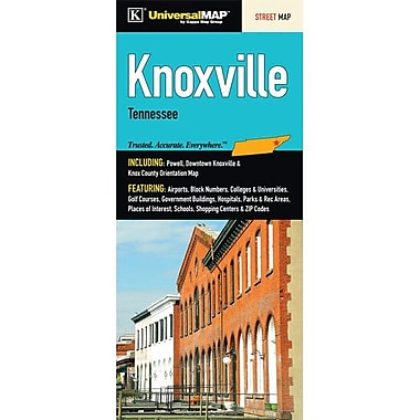Universal Map Knoxville/Knox County Fold Map
