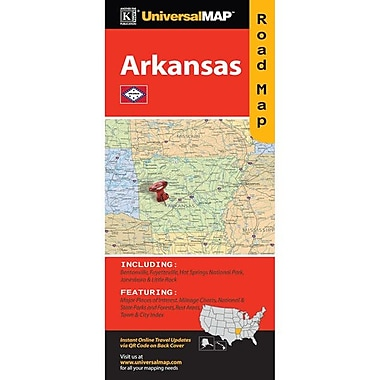 Universal Map Arkansas Fold Map