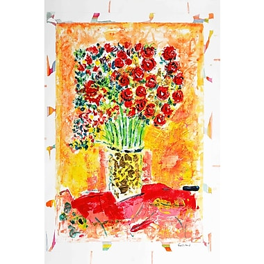 Marmont Hill 'Spring Bouquet' by Wayne Ensrud Painting Print on Wrapped Canvas; 18'' H x 12'' W