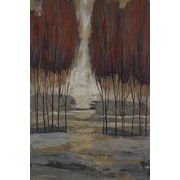 Marmont Hill 'Wild Wood Ii' by Julie Joy Painting Print on Wrapped Canvas; 60'' H x 40'' W