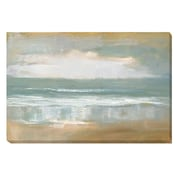 Artistic Home Gallery Shoreline by Caroline Gold Painting Print on Wrapped Canvas