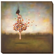 Artistic Home Gallery Boundlessness in Bloom by Duy Huynh Painting Print on Wrapped Canvas