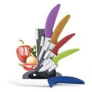 Cooking Essentials Modern Block 6 Piece Knife Set