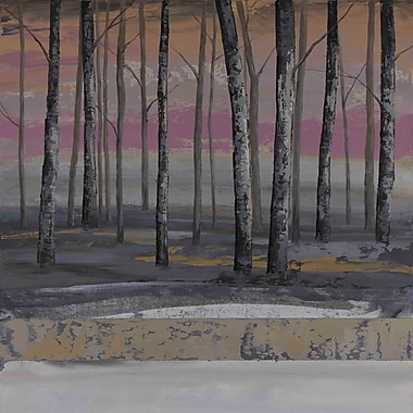 Marmont Hill 'Valley Grove Ii' by Julie Joy Painting Print on Wrapped Canvas; 24'' H x 24'' W