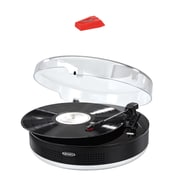 Jensen Bluetooth 3-spd Stereo Turntable With Metal Tone Arm & Turntable Needle