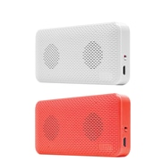 iluv Audmini Portable Pink And White Speakers 2 Pack