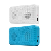 iluv Audmini Portable Blue And White Speakers 2 Pack