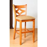 Benkel Seating Rego 30'' Bar Stool; Cherry