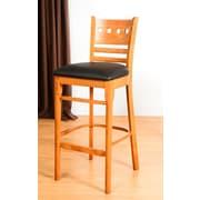 Benkel Seating Domsey 30'' Bar Stool; Cherry