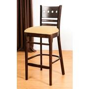 Benkel Seating Domsey 30'' Bar Stool; Walnut