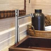 Cinaton Standard Bathroom Faucet; Brushed Nickel