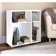 Homestar 30'' Cube Unit Bookcase; White