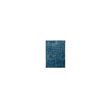 Hokku Designs Santtur Turquoise Area Rug; 5'2'' x 7'6''