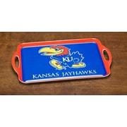 BSI Products NCAA Melamine Serving Tray; Kansas Jayhawks