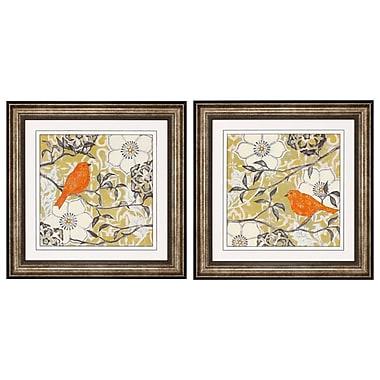 Propac Images Wood I / II 2 Piece Framed Graphic Art Set