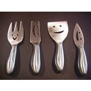 Prodyne 4 Piece Stainless Steel Cheese Knives Set