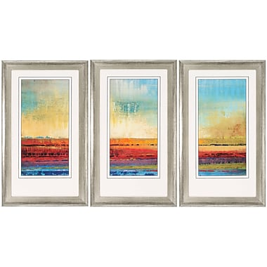 Propac Images Horizons 3 Piece Framed Painting Print Set