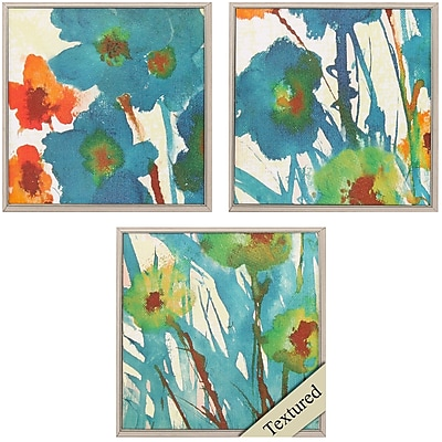 Propac Images By the Bridge I 3 Piece Framed Painting Print Set
