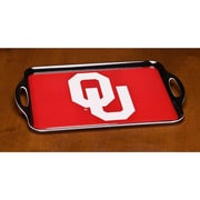 BSI Products NCAA Melamine Serving Tray; Oklahoma Sooners