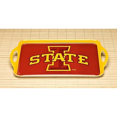 BSI Products NCAA Melamine Serving Tray; Iowa State Cyclones
