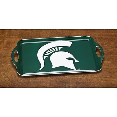 BSI Products NCAA Melamine Serving Tray; Michigan State Spartans