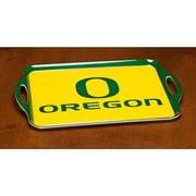 BSI Products NCAA Melamine Serving Tray; Oregon Ducks