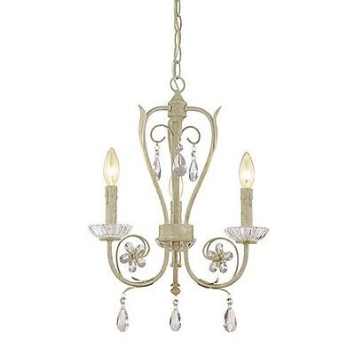 Millennium Lighting Clara 3-Light Candle-Style Chandelier