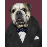 Empire Art Direct Pets Rock  ''Leader'' Graphic Art on Wrapped Canvas